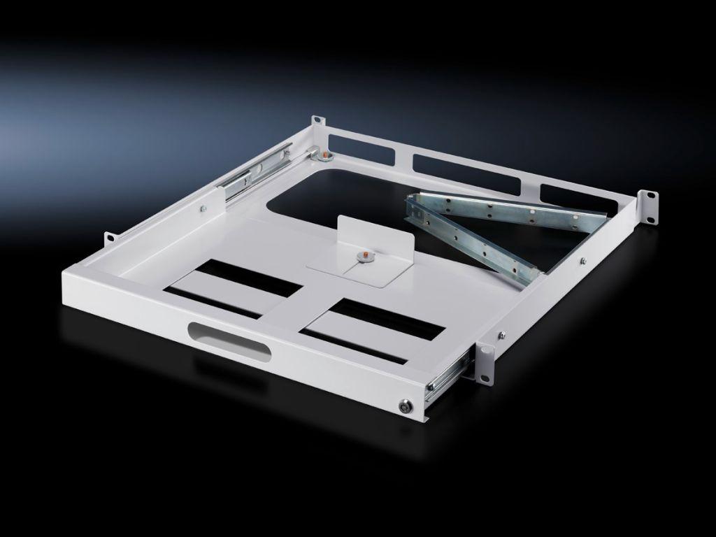 Tastaturschublade 1 HE für zwei 482,6 mm (19