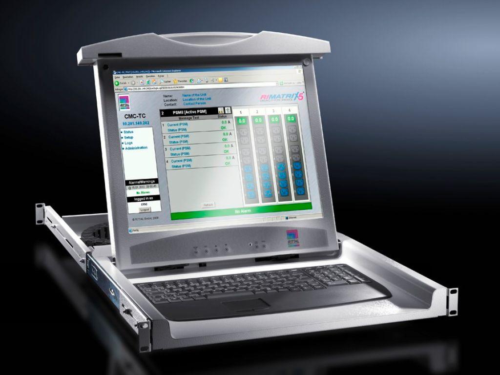 Monitor Keyboard Unit With 17 Quot Tft Display And Vga Dvi