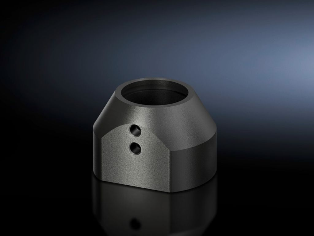 Крепление CP 40, сталь для подсоединения несущего рычага 90 x 71 мм