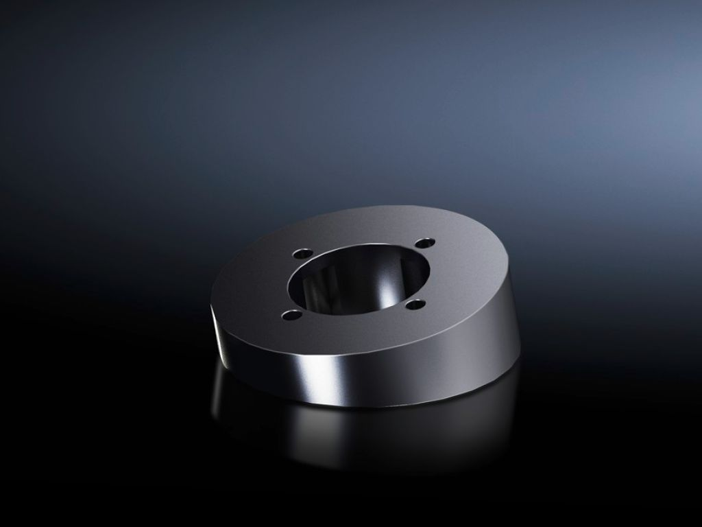 Tilting adapter 10° CP 40, stainless steel