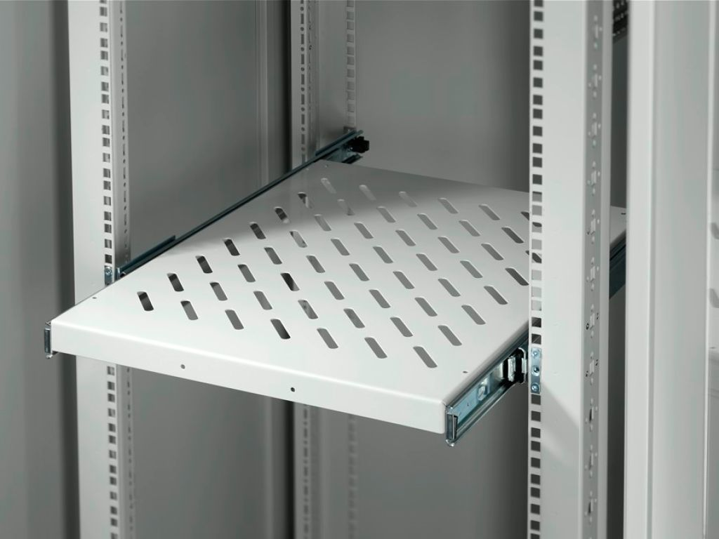 Component shelf, pull-out for TE