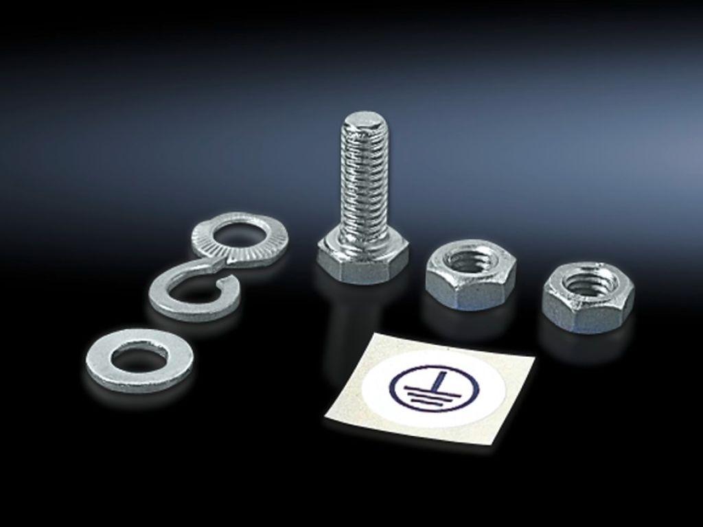 Befestigungsmaterial für Erdungsbänder und Flachband-Erder