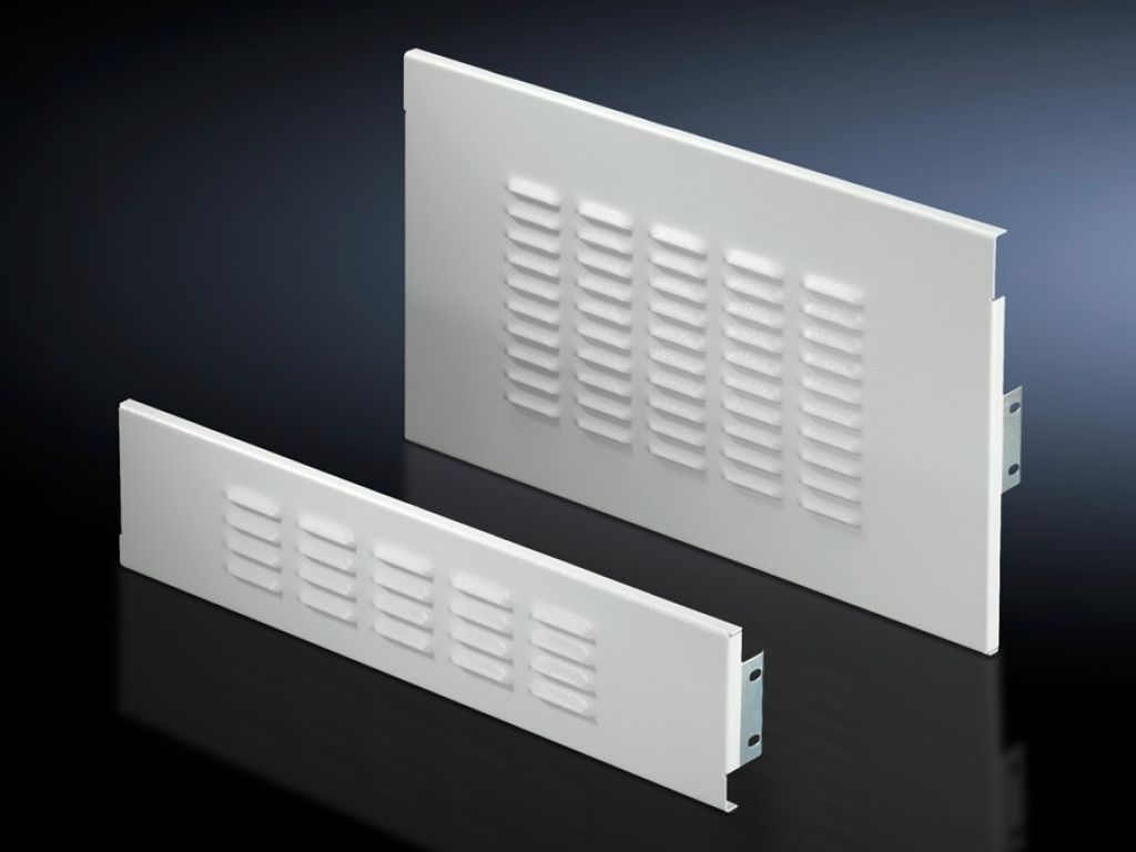 Front trim panel for fuse-switch disconnector section