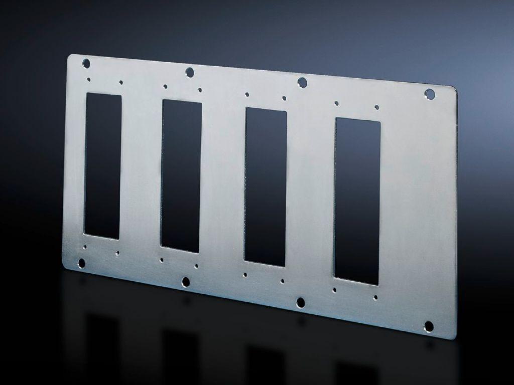 Modulplatten für 16-/24-polige Steckverbinder