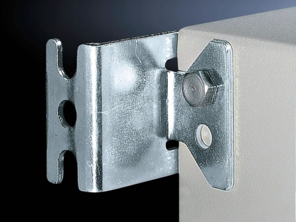 Wall mounting bracket for KL, EB, BG, AE, CM, EL wall-mounted enclosures, TP consoles and small fibre-optic distributors