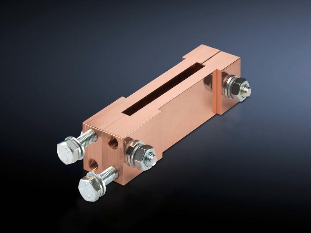 Клеммный блок для распределительной шинной системы для панели планочных силовых разъединителей