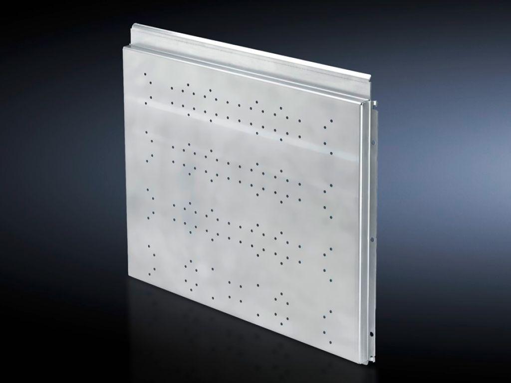 Módulo lateral para áreas de función para zona de conexión de cables