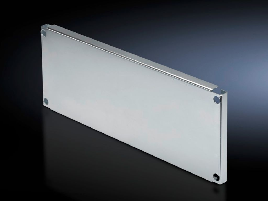 Partial mounting plates for compartment side panel modules (internal compartmentalisation)