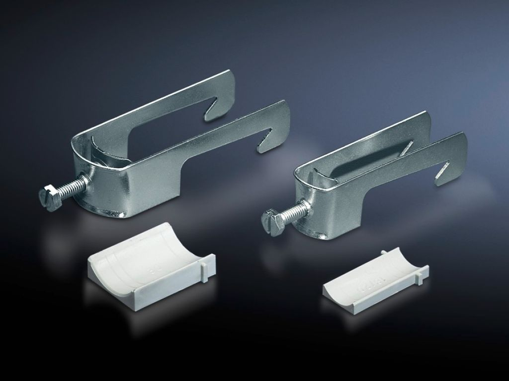 Cable clamps for cable clamp rails