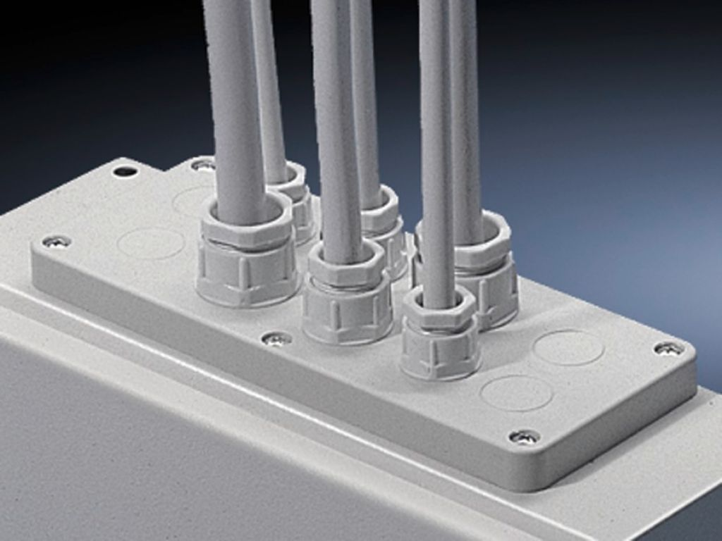 Plastic Cable Gland Plates With Pg Knockouts