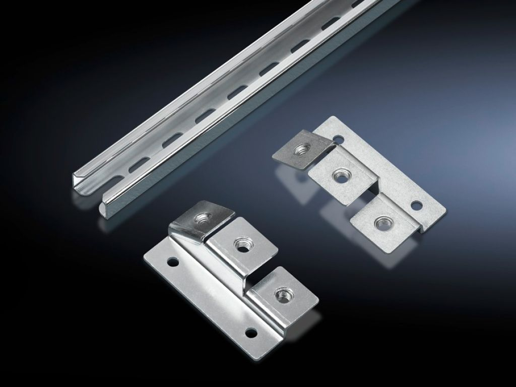 Cable Clamp Rail C Section For Mounting Plates For Ts