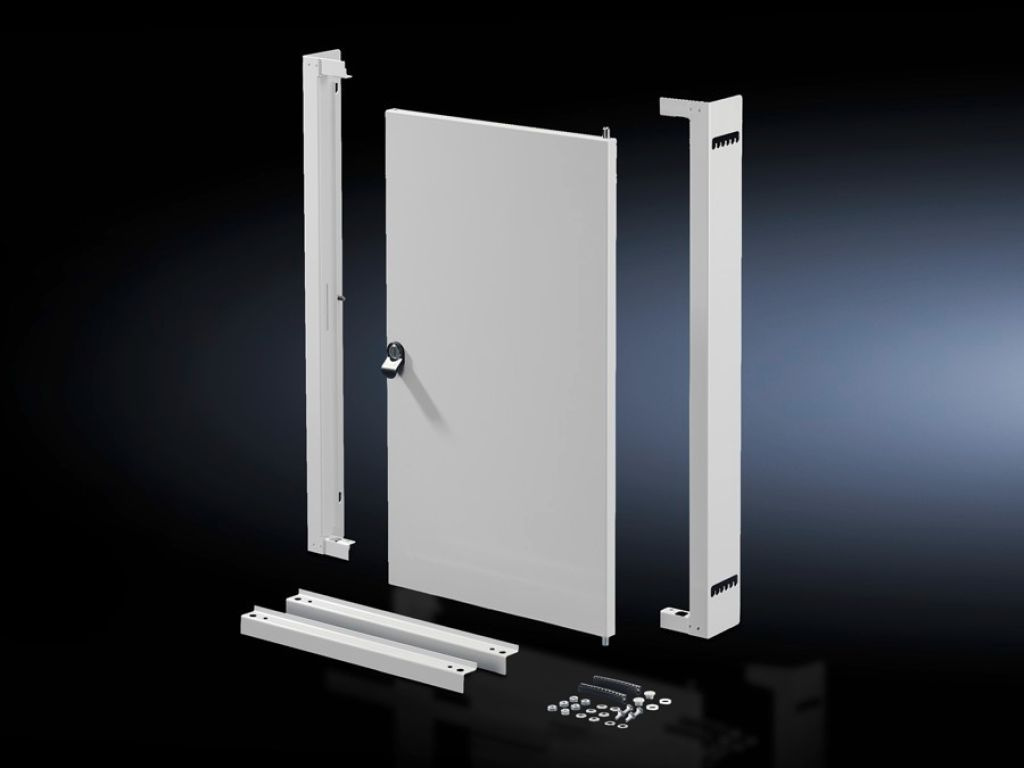 Interior Door With Mounting Frame For Compact Enclosure Ae Ip 69k Wooden Framed Doors Over Fuse Box