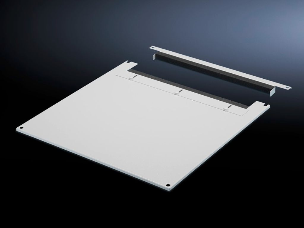 Roof plate for cable entry, two-piece for VX, VX IT, TS, TS IT