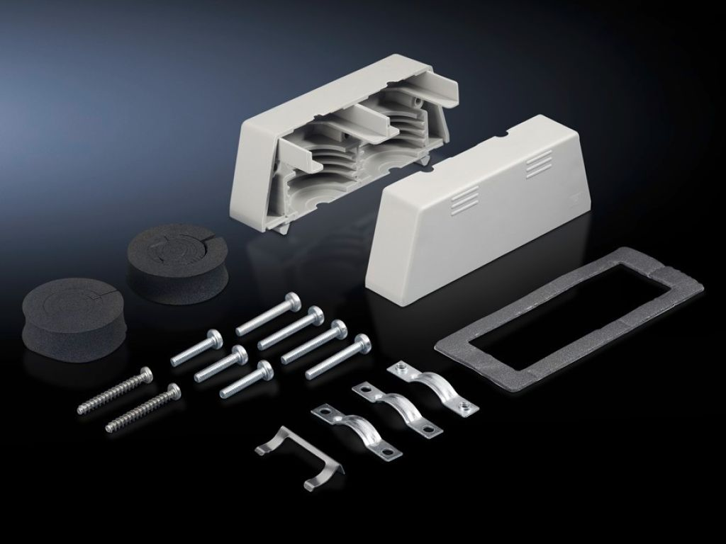 Connector gland for connector cut-outs (24-pole)