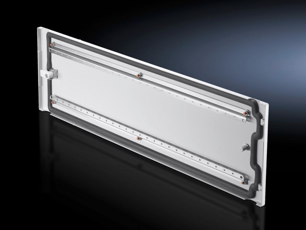 Régua perfurada para montagem para porta parcial