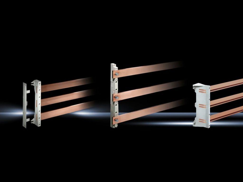 Distanční vložky pro redukci šířky přípojnic