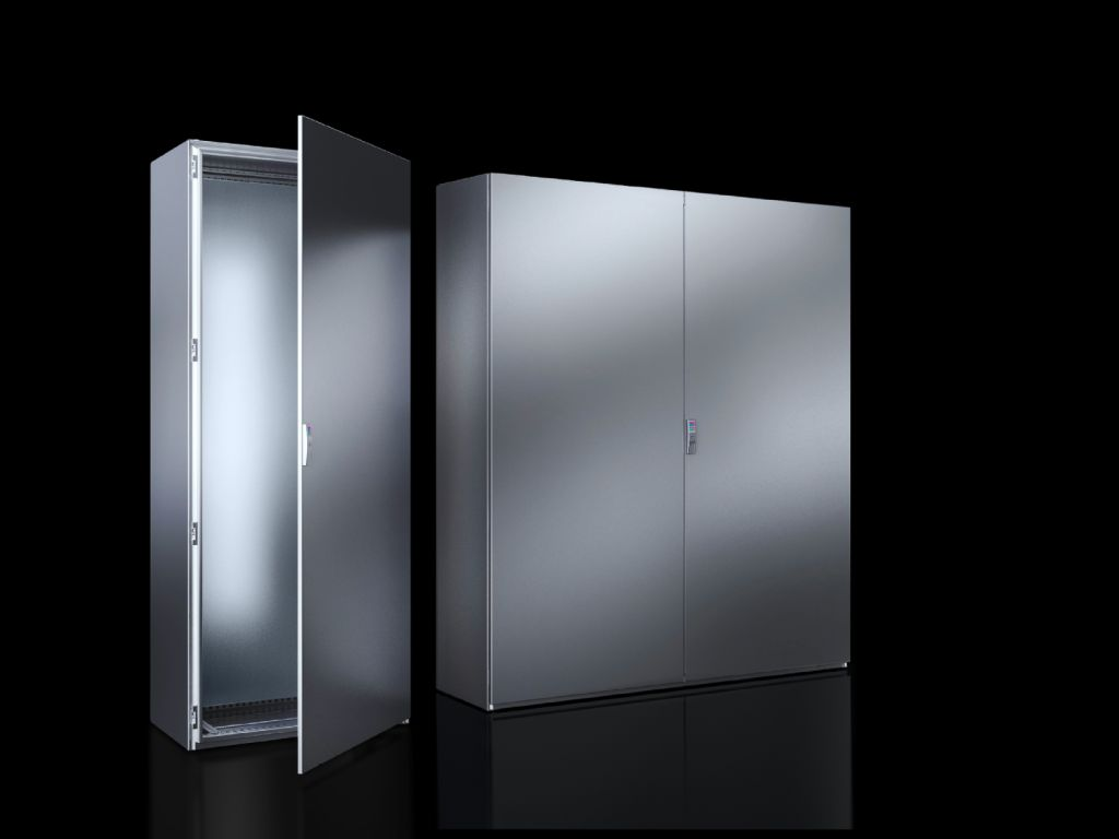 SE 8 free-standing enclosure system Stainless steel