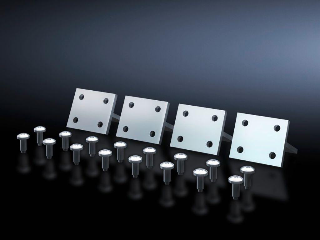 Connector uitbreidingsadapter voor montageprofielen ISV