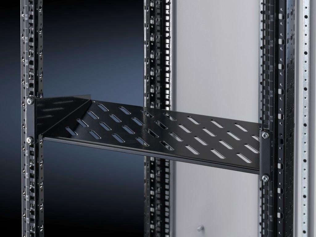 Component shelf 2 U, static installation