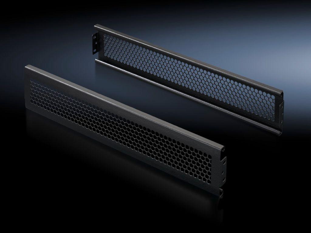 Flex-Block trim panels, 100 mm, vented for Flex-Block corner pieces