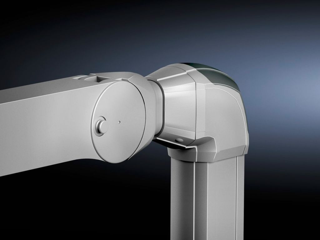 Adapter CP 120 till bärarm, höj- och sänkbar