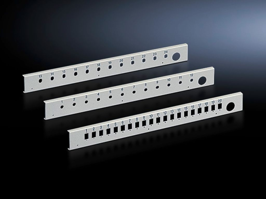 Patch panel for fibre-optic splicing box, lockable