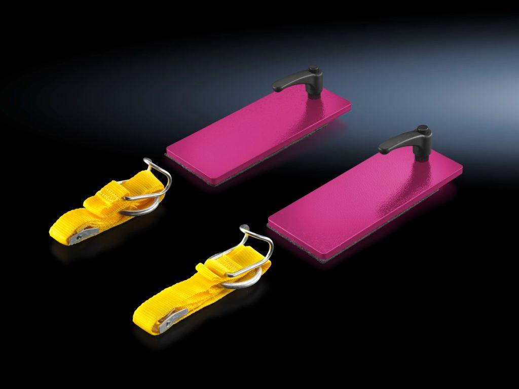 Set di fissaggio di contenitori per tavolo di montaggio
