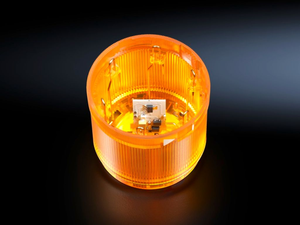 LED knipperlichtelement voor signaalzuilen, modulair