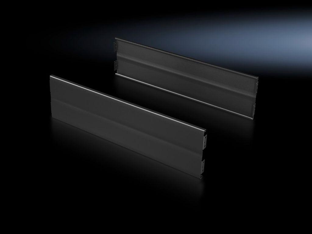 Acabamentos para base soleira Flex-Block, 200 mm, lisos para cantoneiras da base soleira Flex-Block