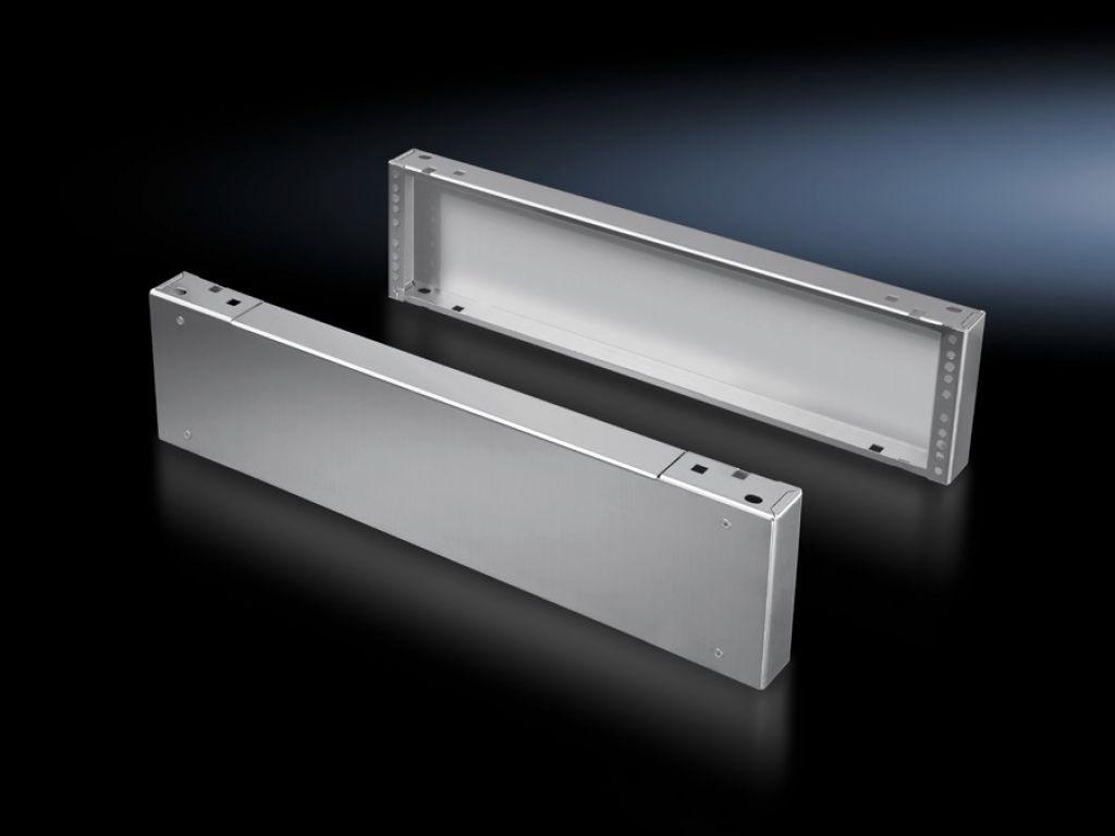 Díly podstavce přední a zadní, 200 mm Nerez ocel pro TS, SE