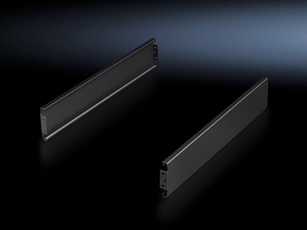 Flex-Block plinten, 100 mm, gesloten voor Flex-Block hoekstukken