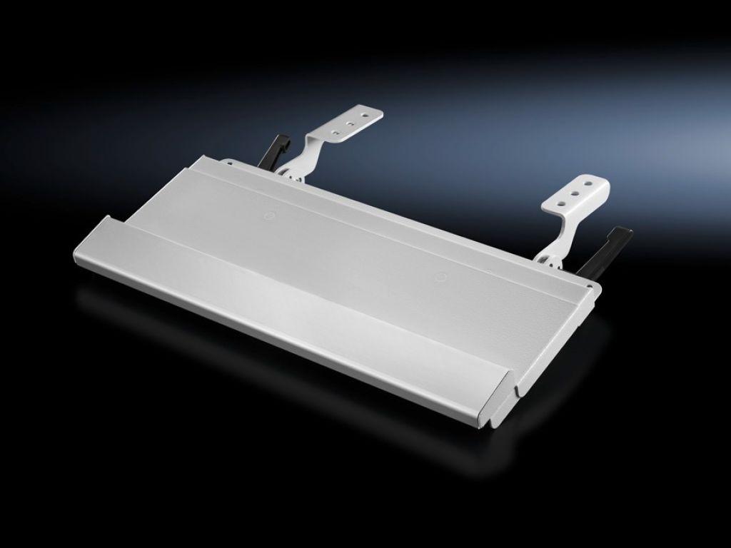 Tablette porte-clavier pour coffrets de commande ou surfaces planes