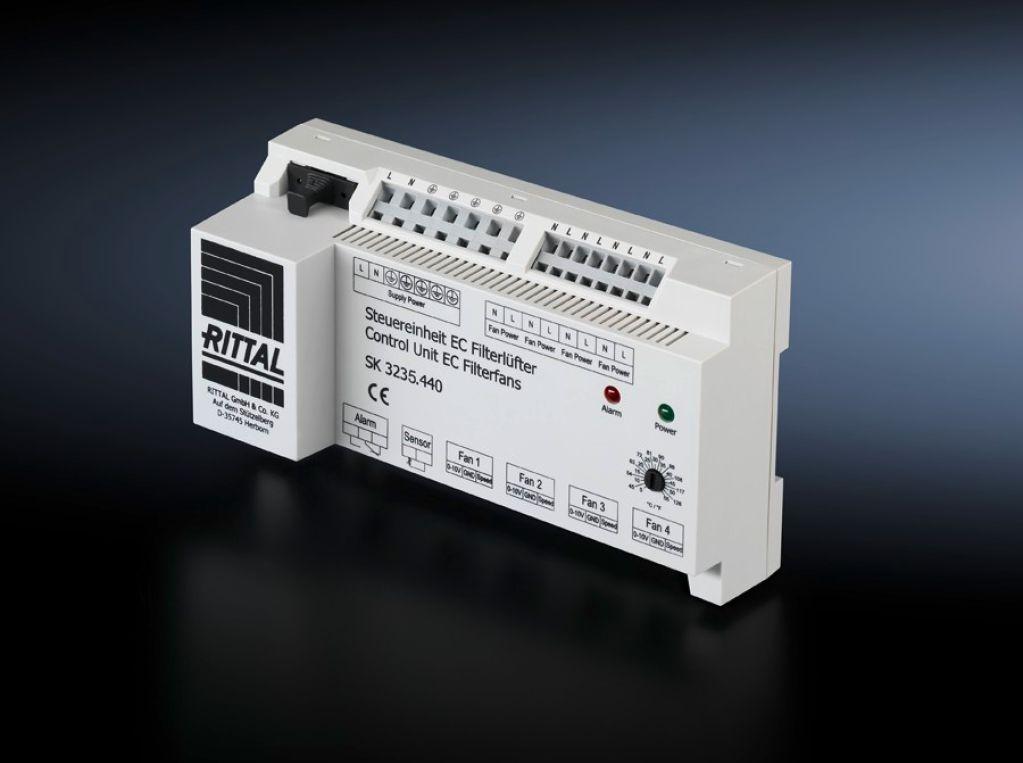Regulator obrotów EC Jednostka sterująca dla wentylatorów EC