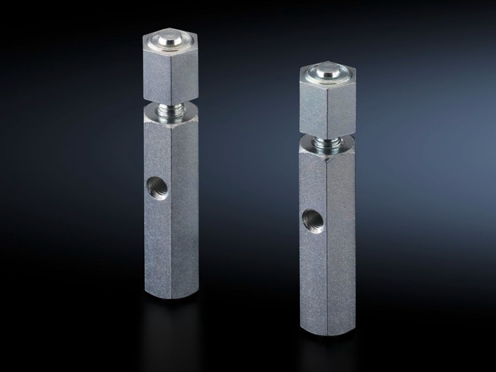 Fastening bolts for base/plinth, complete and base/plinth, static