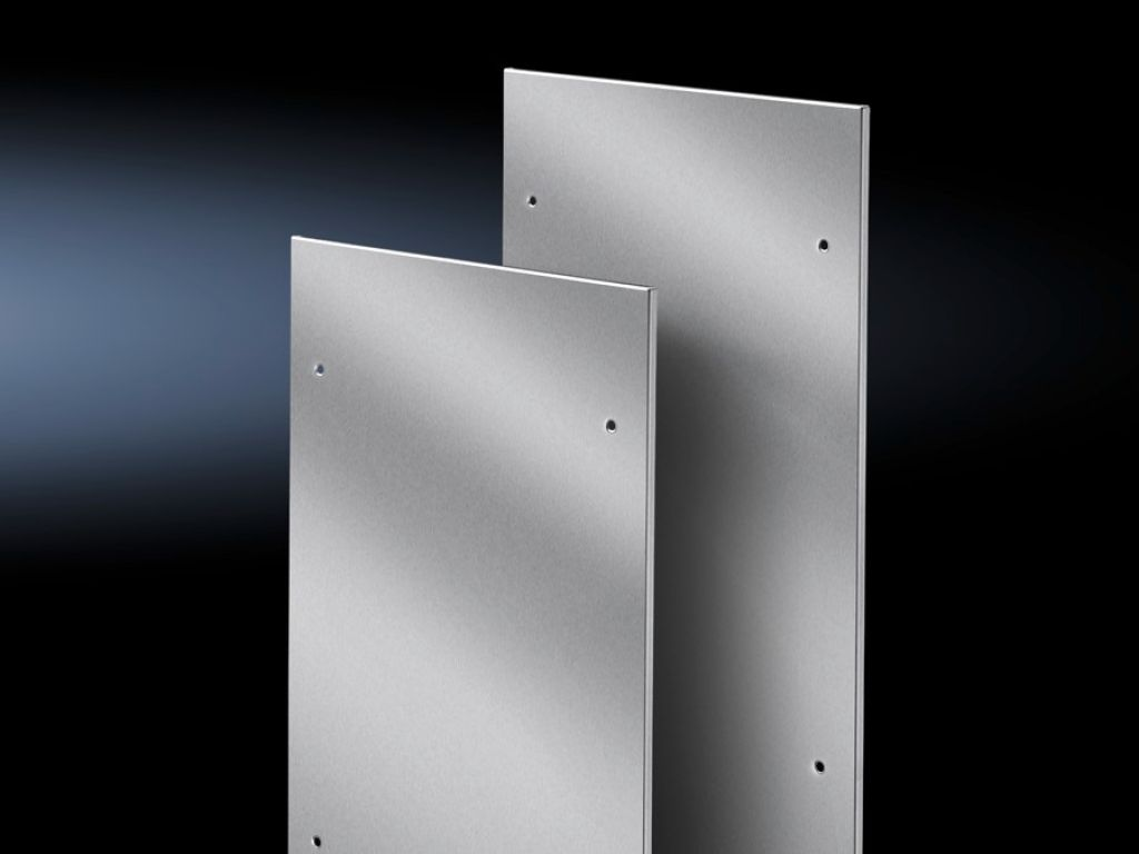 Side panels, screw-fastened, stainless steel for TS