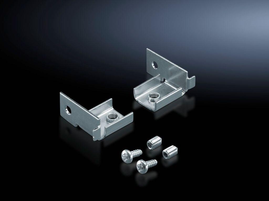 haltewinkel c profil zur befestigung am horizontalen profil. Black Bedroom Furniture Sets. Home Design Ideas