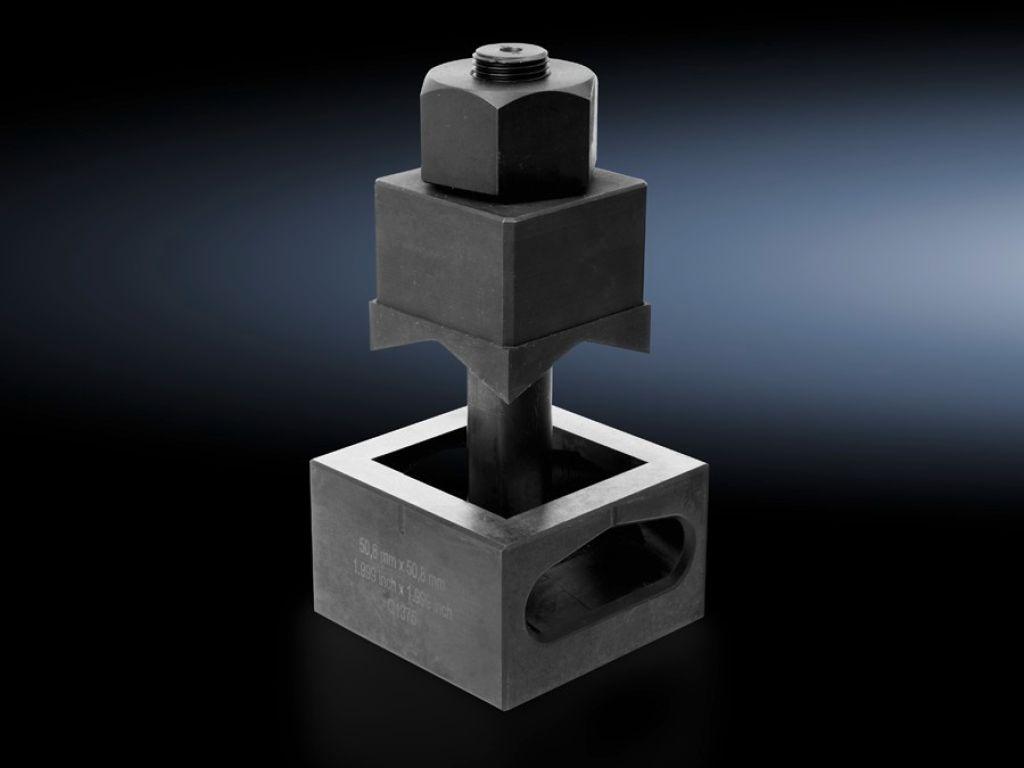Emporte-pièces carré pour tôle d'acier