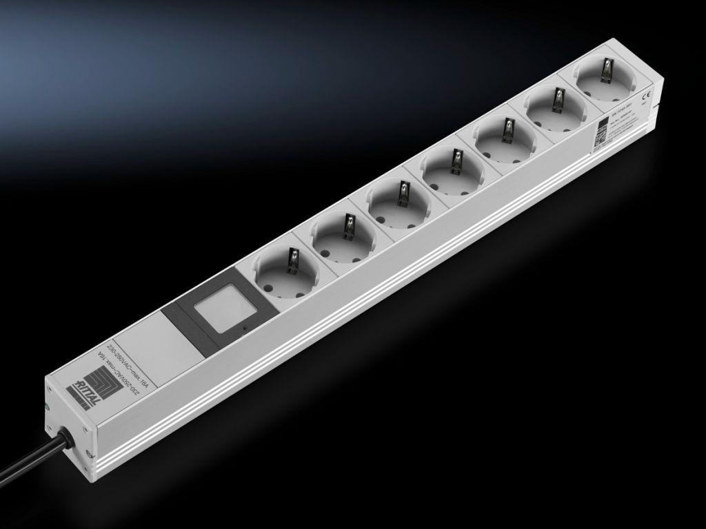 Блок розеток с измерение электроэнергии