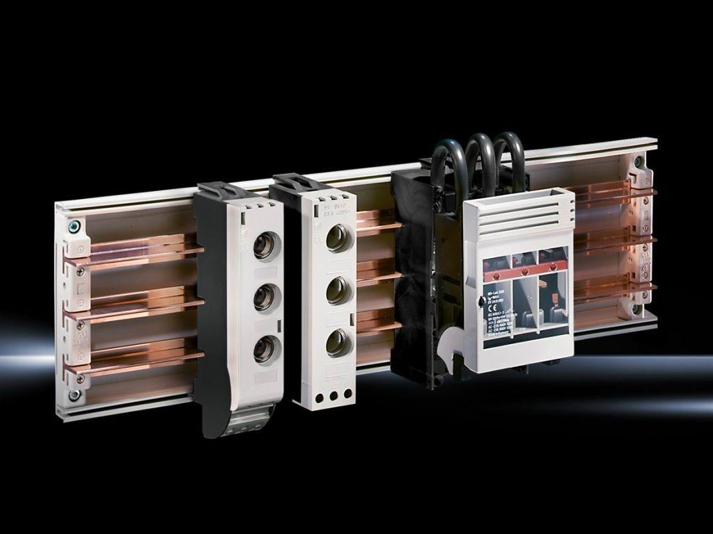 Mini-PLS bus-mounting fuse bases