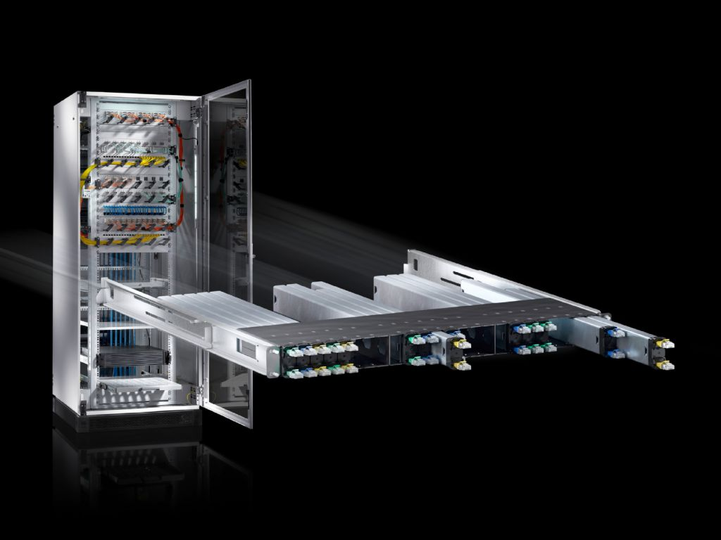 Sistema completo CAT 6 para el Network Cable Organizer