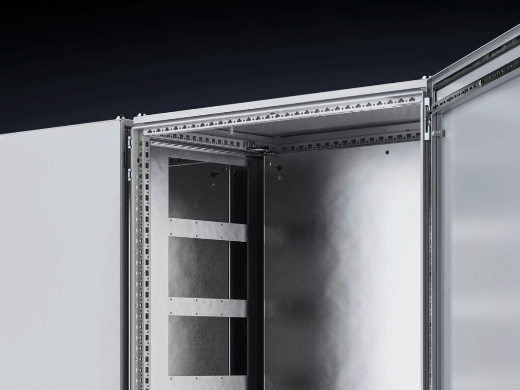 Divider panels for module plates, for VX