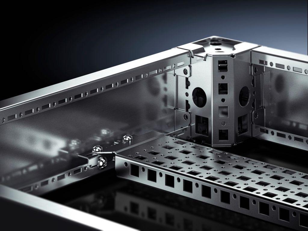 Systemchassi 23 x 89 mm, rostfritt stål för VX