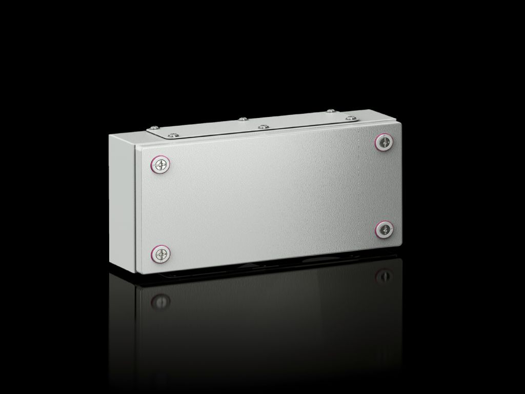 Small enclosures KX Terminal box KX, sheet steel, with gland plate