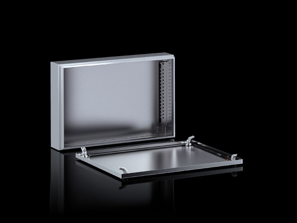 Small enclosures KX Terminal box KX, stainless steel, without gland plate
