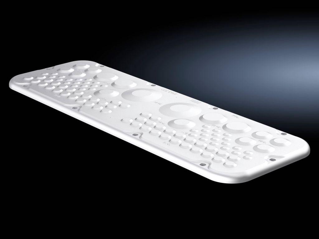 Пластиковая Фланш-панель с мембранами, для AX