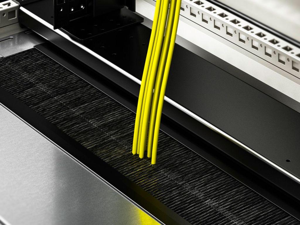 Модуль панели основания, секционный, со щеточным буртиком высокой плотности для VX IT