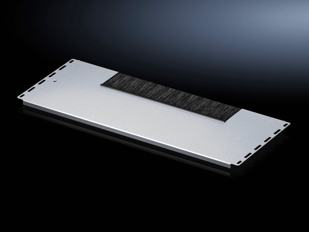 Gland plate module, one-piece, with brush strip for VX IT