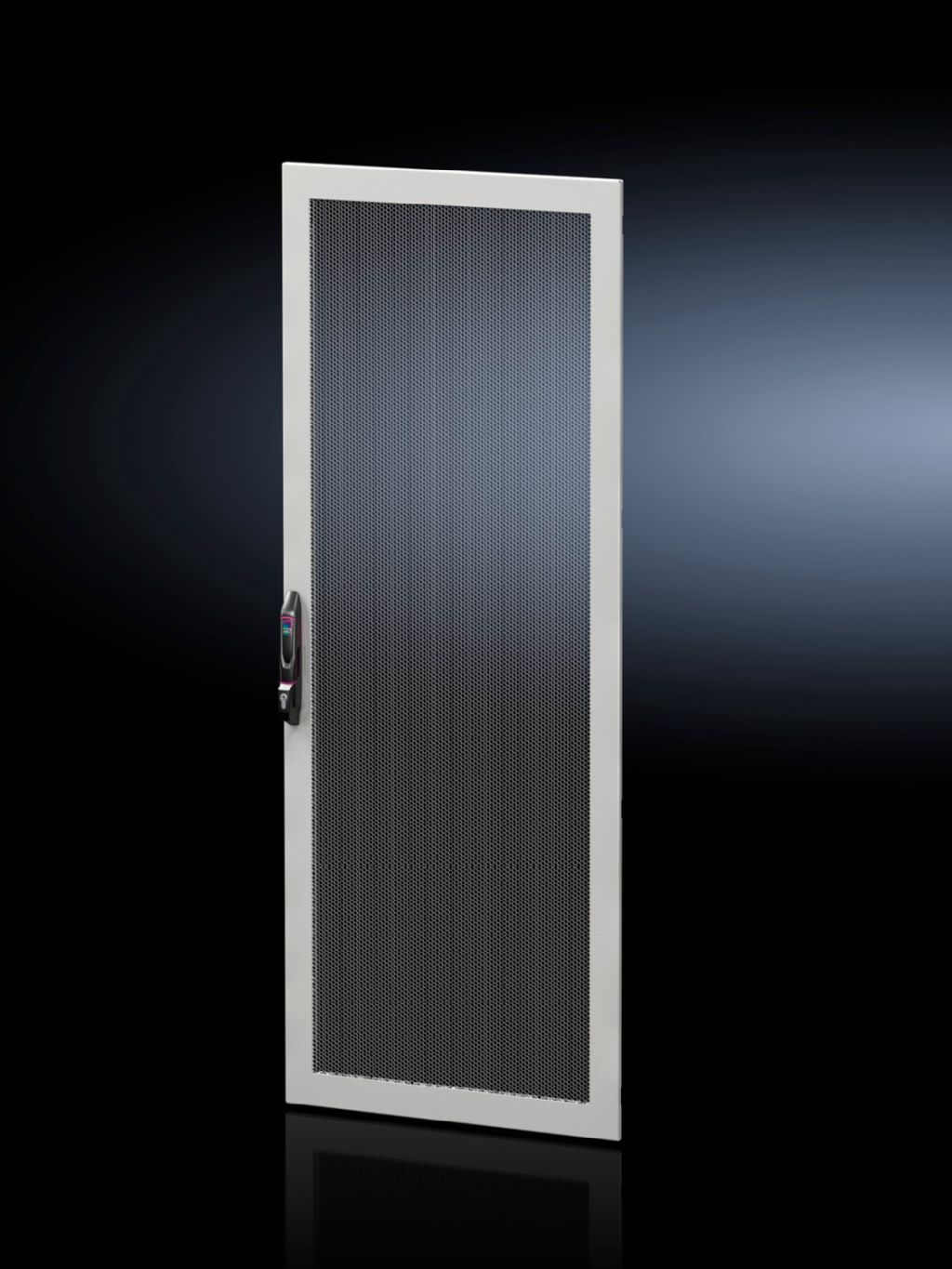 Sheet steel door, one-piece, vented for VX IT