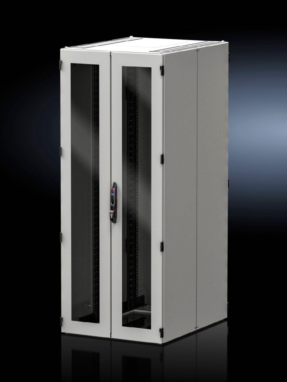 Dvere z oceľového plechu, vertikálne oddelené