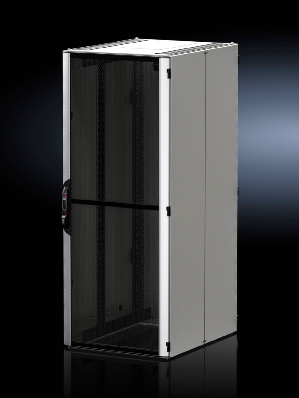 Aluminium/sheet steel door, vented for VX IT
